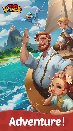 Gems Voyage - Match 3 & Jewel Blast apkdebit screenshots 1
