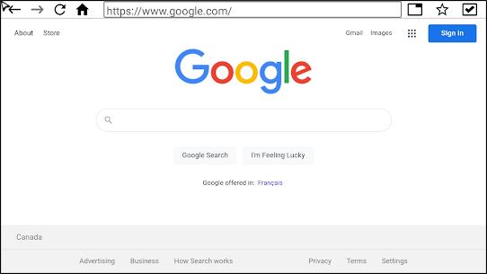 Internet Browser (TV) Apk Download 5