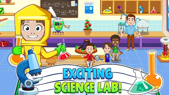 My Town : Play School for Kids Free For Android (MOD, Unlimited Money) 3