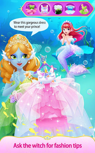 Sweet Princess Fantasy Hair Salon apktram screenshots 8