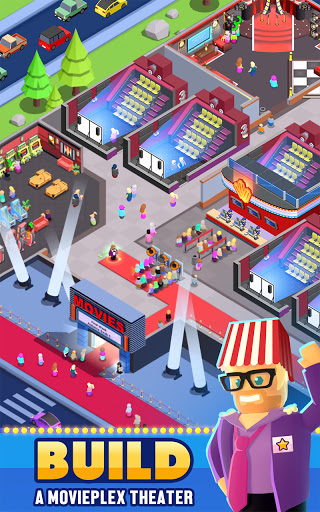 Box Office Tycoon - Idle Movie Management Game goodtube screenshots 1