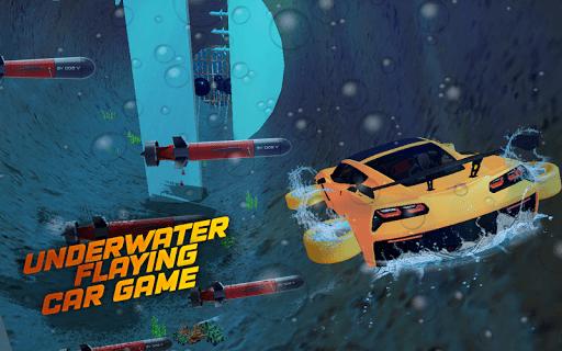 Underwater Flying Car Game 1.0.2 screenshots 2