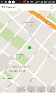 Find iPhone, Android Devices, xfi Locator Lite Screenshot