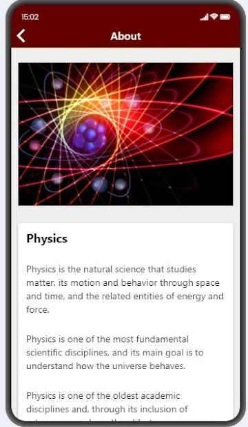 Physics Facts screenshot 5