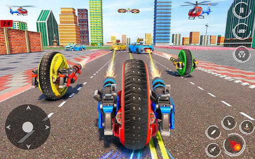 Drone Robot Car Driving - Spider Wheel Robot Game  screenshots 2