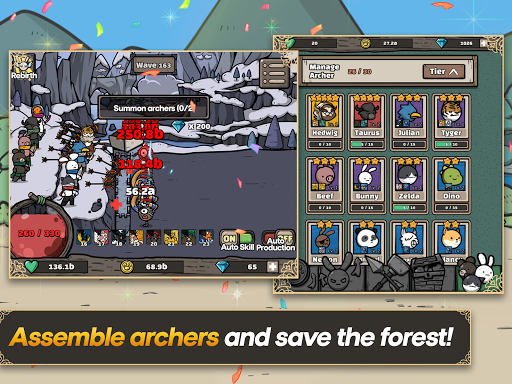 Archer Forest : Idle Defence screenshots 2
