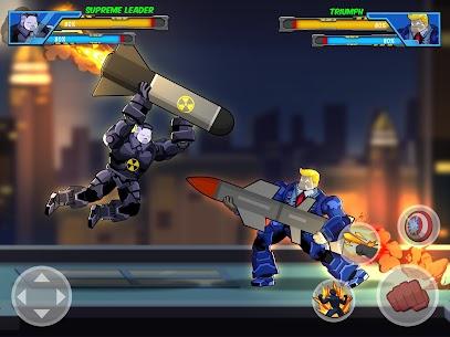 Robot Super Mod Apk: Hero Champions (UNLOCKED HEROES) 9