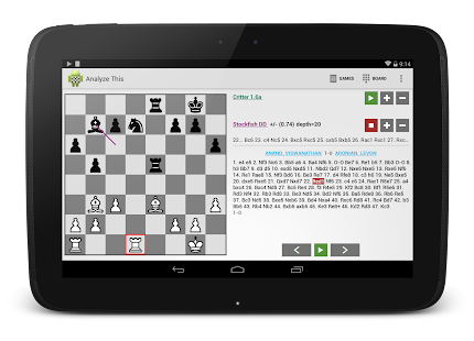 Chess - Analyze This (Free) Screenshot