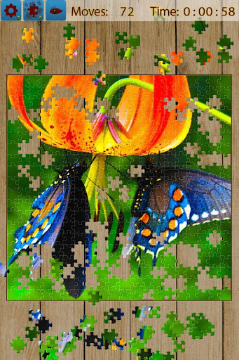 Butterfly Jigsaw Puzzles android2mod screenshots 2
