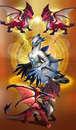 Dragon Epic - Idle & Merge - Arcade shooting game  captures d'écran 1
