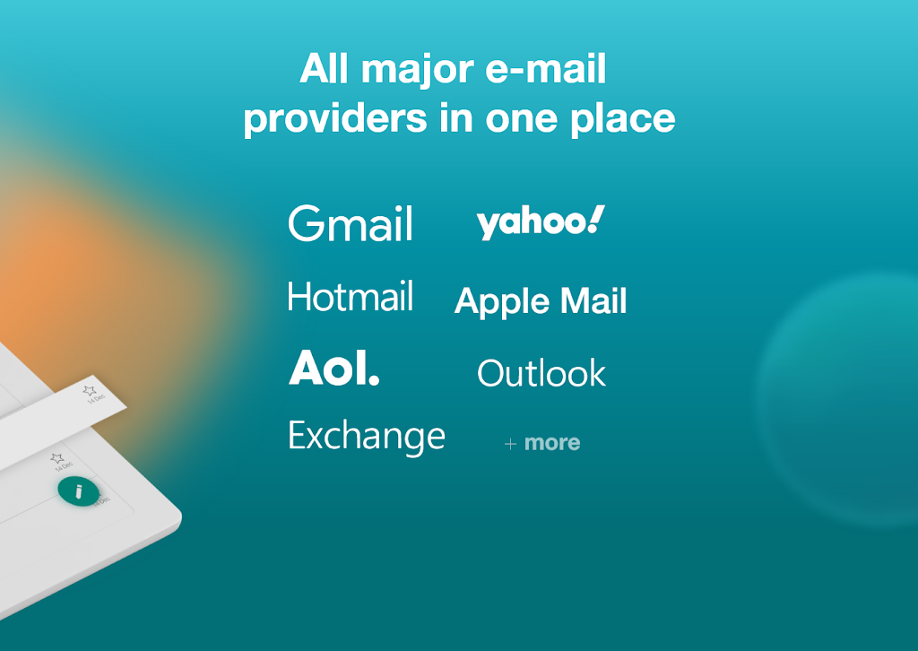 Email Aqua Mail - Exchange, SMIME, Smart inbox poster 18