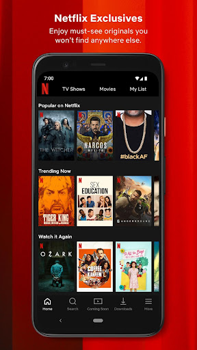 Netflix 7.82.2 build 42 35213 screenshots 2