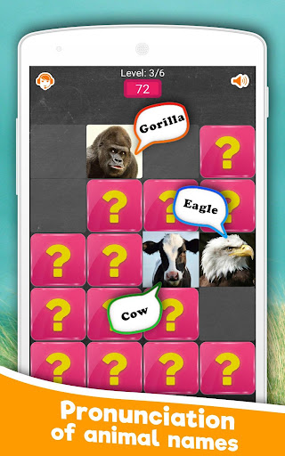 Memory Game: Animals android2mod screenshots 3