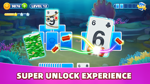 Oceanic Solitaire: Free Card Game android2mod screenshots 7