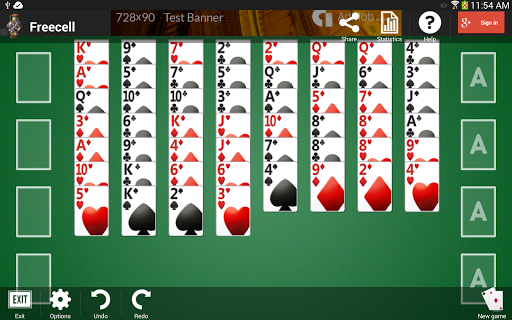 Freecell apkpoly screenshots 14