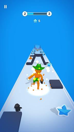 Pixel Rush - Perfect Run modiapk screenshots 1