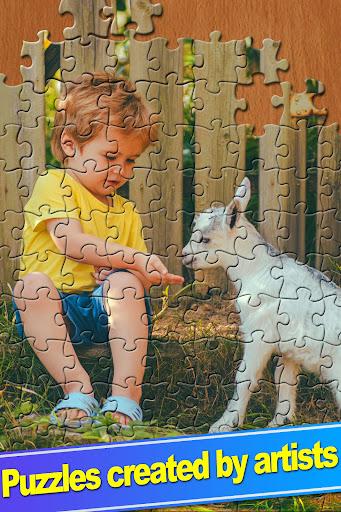 ColorPlanetu00ae Jigsaw Puzzle HD Classic Games Free  screenshots 19