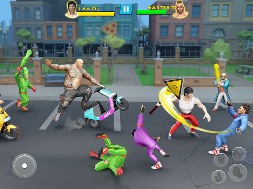 Beat Em Up Fighting Games: Kung Fu Karate Game 3.5 screenshots 5