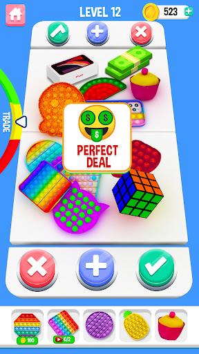 Fidget Trading   Satisfying & Calming Game: Pop it 2021.9.1 screenshots 1