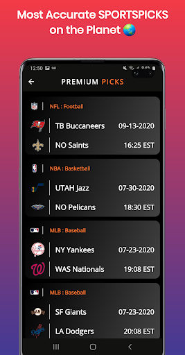 SPORTSNERD : Free Picks and Predictions  screenshots 3