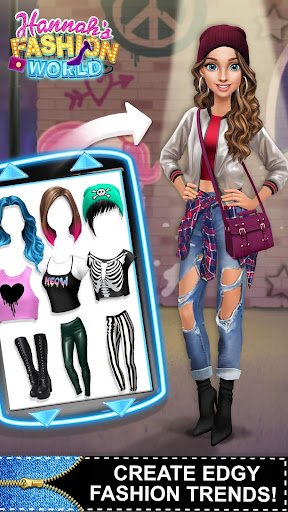 Hannahu2019s Fashion World - Dress Up & Makeup Salon  Screenshots 4