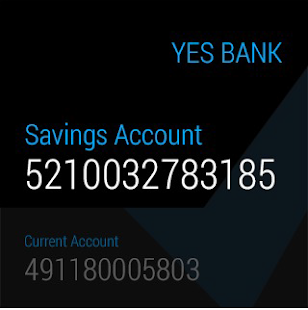 YES BANK Screenshot
