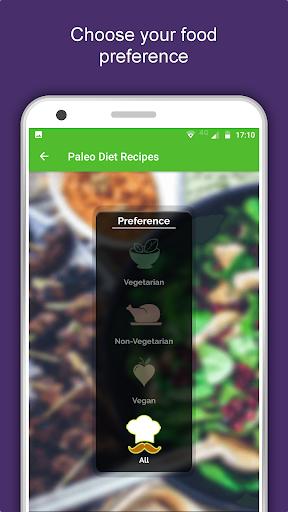 110+ Paleo Diet Plan Recipes: Healthy, Weight Loss 1.0.11 screenshots 1