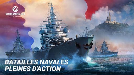 Télécharger gratuit World Of Warship Blitz: Jeu de Bataille Navale APK MOD 2