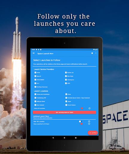 Space Launch Now - Watch SpaceX, NASA, etc...live! apktram screenshots 10