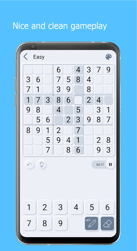 Sudoku Cards - Free Offline Puzzle Game android2mod screenshots 4