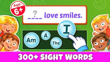 Sight Words - PreK to 3rd Grade Sight Word Games