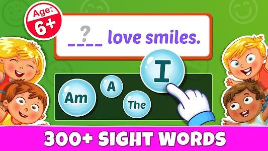 Sight Words - PreK to 3rd Grade Sight Word Games 1.0.9