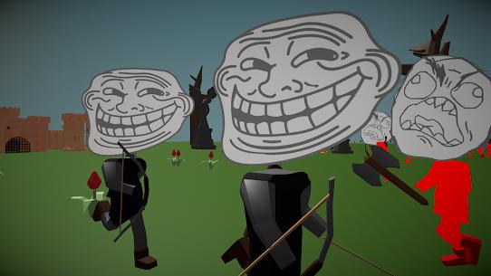 Stickman Meme Warrior Rage Simulator Hack Game Android & iOS 4