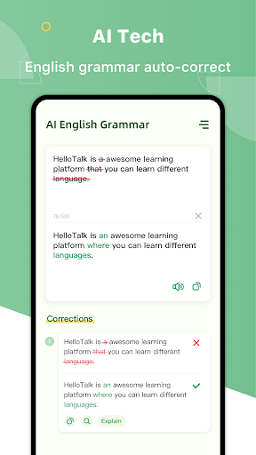 AI Grammar Checker for English - Correct Spelling 1.3.3 Screenshots 1
