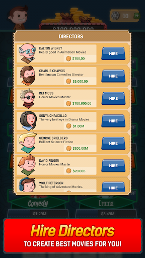 Idle Film Empire: Clicker Manager Tycoon Free Game  screenshots 3