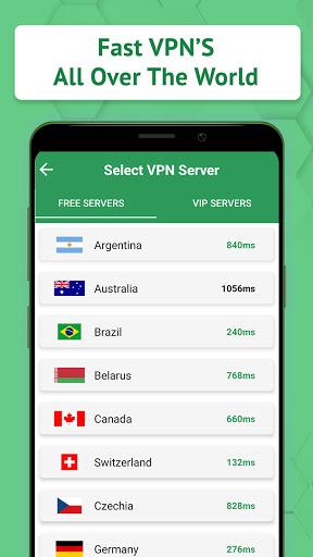 Fast VPN - Fast & Free & Secure VPN Proxy apktram screenshots 3