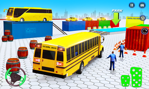 School Bus Driving Simulator Bus Parking Games 20 Screenshots 1