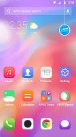 Colorful Simple PhoneX OS - APUS launcher theme