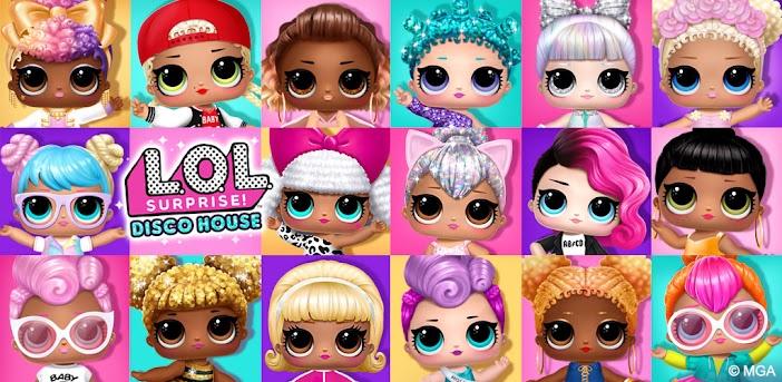 L.O.L. Surprise! Disco House – Collect Cute Dolls
