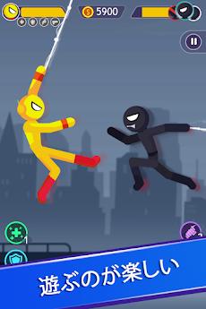 Stickman Battle Supreme: 棒人間 最高 デュエリストスーパーヒーローのおすすめ画像1