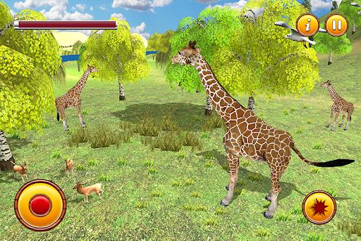 Giraffe Family Life Jungle Simulator apktram screenshots 1