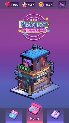 Project Merge 3D - Matching Pair Game apklade screenshots 1