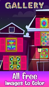 Stained Glass Color by Number – Adult Paint Book 1.7 APK Mod Android [Latest] 1
