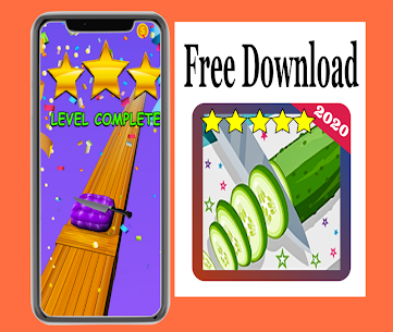 New : Fruit Cut Slicer 3D 2020 Hack for iOS and Android 5