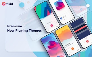 Fluid: Mp3 music player with floating widget