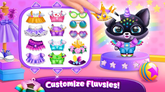 Fluvsies Pocket World – Pet Rescue & Care Story (MOD, Unlimited Money) For Android 2