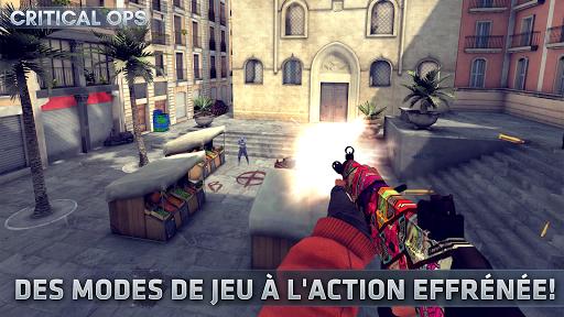 Code Triche Critical Ops: Online Multiplayer FPS Shooting Game (Astuce) APK MOD screenshots 3