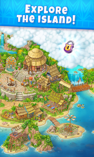 Jungle Mix Match Three: New Jewel in Match-3 Games apkpoly screenshots 2
