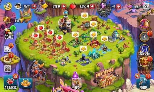 Download Monster Legends MOD Apk [Unlimited Gold/Food/Gems] 6