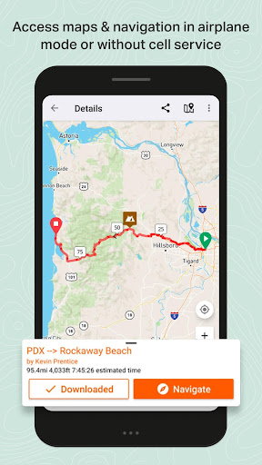 Ride with GPS - Bike Route Planning and Navigation modavailable screenshots 5